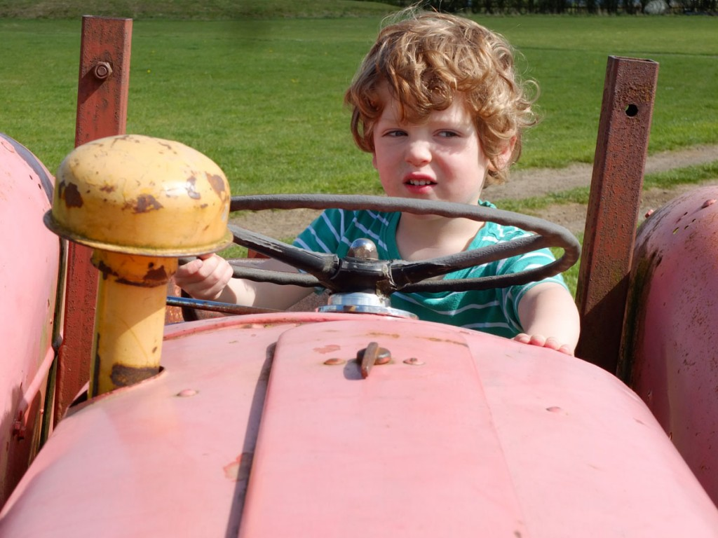 Jack tractor